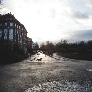 Berlin Kreuzberg Dezember 2017