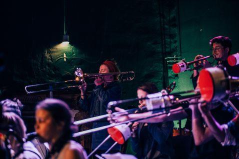 Hans Anselm BigBand im Kino in der Regenbogenfabrik